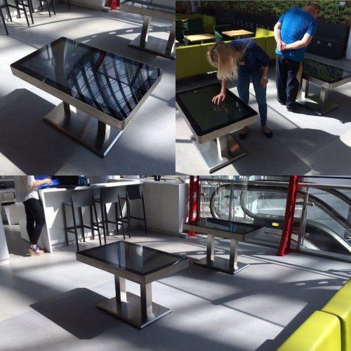 Stoly interaktywne serii Steel Pro